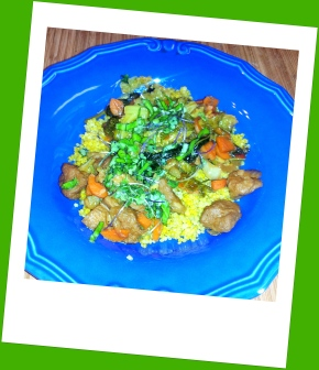 Recipe for Seitan and Veggies Stir-Fry by Yana